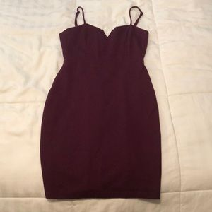 Midi, spaghetti strap dress